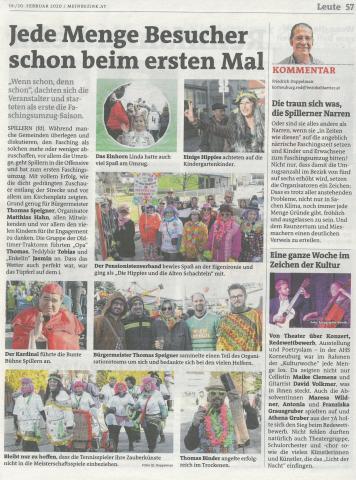 Bericht Bezirksblätter KW8